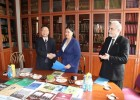 AN AGREEMENT WAS SIGNED BETWEEN THE INSTITUTE OF ORIENTAL STUDIES AND THE ACADEMY OF SOCIAL SCIENCES OF CHINA'S GANSU PROVINCE